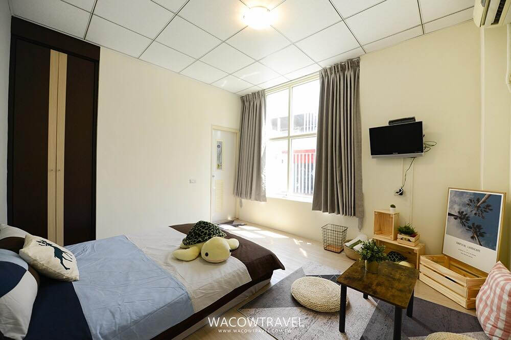 861小琉球民宿2館熱情北歐雙人套房